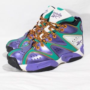 Reebok Kamikaze I Sneakers Retro Purple Women's 7